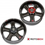 ROTOBOX RC8/RC8R 09-用 カーボンホイール