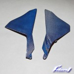 YZF-R1 15-年用 ブルーカーボン サイドカウルパネル BL-NE-YA-R1-08
