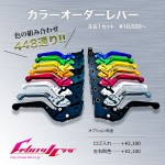 RSV MILLE / R / Factory 04-08 カラーオーダーレバー