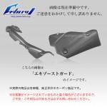 ストリートファイター 09-15年用 ドライカーボン エキゾーストカバー DU-SF-03